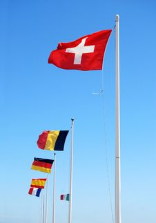 Free Flags Royalty Free Stock Image - 5767746