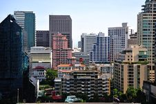 Thailand View Of The City Of Bangkok Royalty Free Stock Images