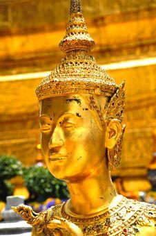 Free Thailand Bangkok Wat Phra Kaew Stock Image - 5768041