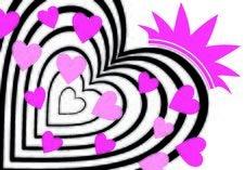 Free Background Heart Set Valentine Royalty Free Stock Photos - 5768238