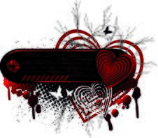 Background Heart Set Valentine Royalty Free Stock Photo