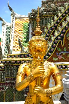 Free Thailand Bangkok Wat Phra Kaew Royalty Free Stock Photography - 5768337