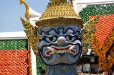 Free Thailand Bangkok Wat Phra Kaew Stock Images - 5768414