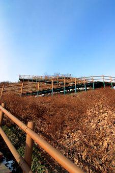 Sky Park In Seoul In Winter Stock Photo