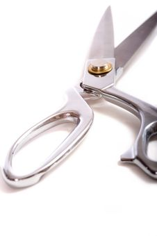 Free Scissors On White Stock Images - 5769604