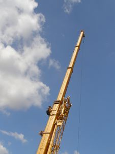 Free Crane Royalty Free Stock Photography - 5769747
