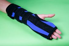 Free Wounded Wrist Stock Photography - 5769872