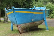 Free Blue Boat Royalty Free Stock Images - 57664239