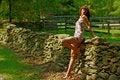 Free Lounging Woman Stock Photos - 5774283
