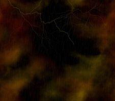 Free Lightning Background Royalty Free Stock Photo - 5770035