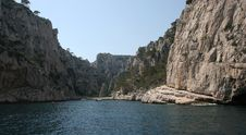 Free Calanques Coastline Near Marseille, France Stock Images - 5770154