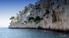 Free Calanques Coastline Near Marseille, France Royalty Free Stock Image - 5770166