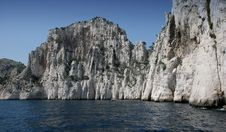 Free Calanques Coastline Near Marseille, France Royalty Free Stock Image - 5770206