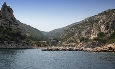 Free Calanques Coastline Near Marseille, France Stock Photos - 5770243