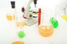 Free Laboratory Royalty Free Stock Photo - 5770485