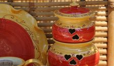 Free Colourful Ceramics On The French Riviera Royalty Free Stock Photo - 5770675