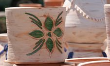 Colourful Ceramics On The French Riviera Royalty Free Stock Images