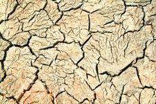 Dry Cracked Land Stock Photo