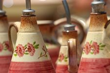 Free Colourful Ceramics On The French Riviera Royalty Free Stock Image - 5770846