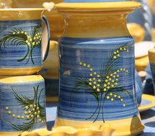 Free Colourful Ceramics On The French Riviera Stock Photos - 5770853