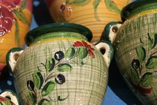 Free Colourful Ceramics On The French Riviera Stock Photography - 5770892