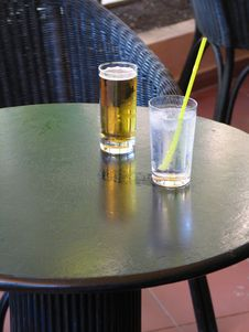 Free Drinks On A Table Stock Photos - 5771243