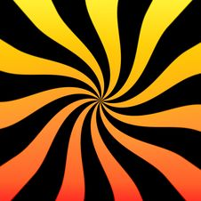 Free Sunburst Twirl Stock Photography - 5771462