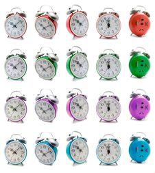 Free Alarm Clock  - Super Set Stock Photography - 5771502
