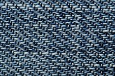 Free Jeans Fabric Macro Royalty Free Stock Photography - 5771507