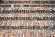 Free Brick Stairs Royalty Free Stock Photo - 5771535
