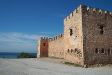 Free Old Greek Castle Stock Photography - 5771642
