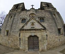 Concepcion Mission In San Antonio, Texas. Stock Image