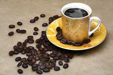Free Cup Of Coffee Royalty Free Stock Images - 5772949