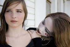 Free Goth And Pretty Girl Stock Photos - 5773493