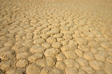 Dry Lake Bed Stock Images