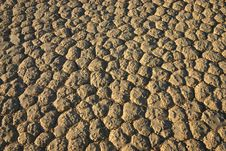 Dry Lake Bed Royalty Free Stock Photo