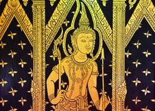 Thailand Bangkok The Marble Temple Royalty Free Stock Photos