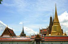 Free Thailand Bangkok Wat Phra Kaew Stock Photos - 5774993