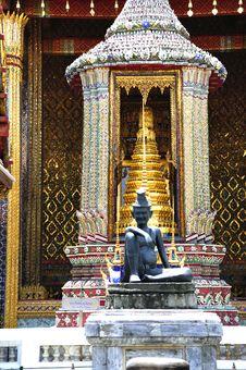 Free Thailand Bangkok Wat Phra Kaew Stock Photography - 5775042