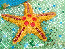 Starfish Mosaic Stock Photos