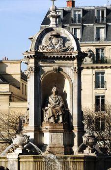 Free France, Paris: Fontaine Des Orateurs-Sacre Stock Photo - 5775510