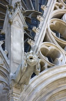 Free St. Nazaire Gargoyle Royalty Free Stock Photography - 5775517