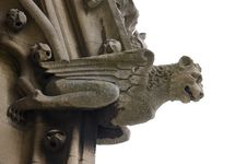 Free Winged Gargoyle Royalty Free Stock Image - 5775526