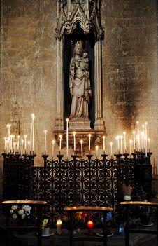 Free France, Paris:The Benedictine Abbey Stock Photos - 5775703