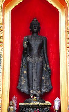 Thailand Bangkok Buddha At The Marble Temple Stock Photo