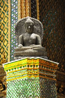 Free Thailand Bangkok Wat Phra Kaew Royalty Free Stock Photos - 5776528