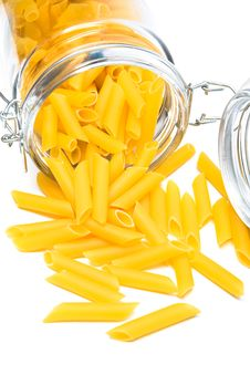 Free Pasta In Glass Can Stock Photos - 5776563