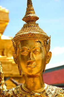 Free Thailand Bangkok Wat Phra Kaew Royalty Free Stock Photography - 5776627