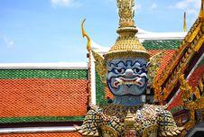 Free Thailand Bangkok Wat Phra Kaew Royalty Free Stock Photography - 5776747