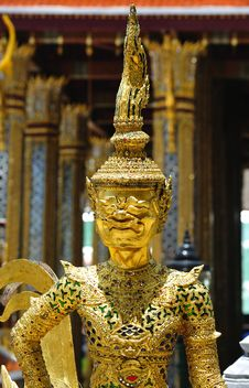 Free Thailand Bangkok Wat Phra Kaew Stock Photos - 5776833